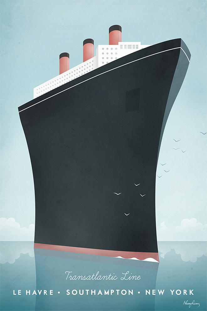 Transatlantic Line by Henry Rivers