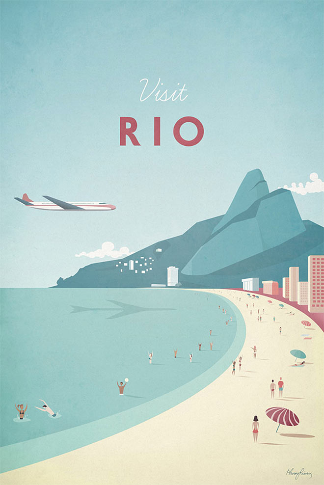 Visit Rio by Henry Rivers