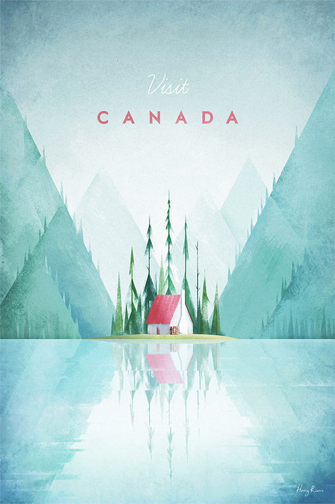 Visit Canada by Henry Rivers