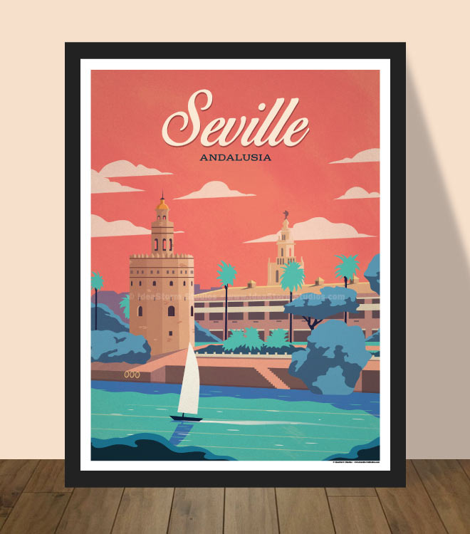 Seville Poster by IdeaStorm
