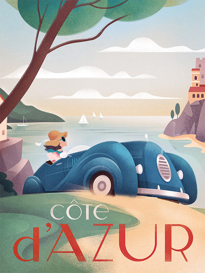 Cote d'Azur by Martin Wickstrom