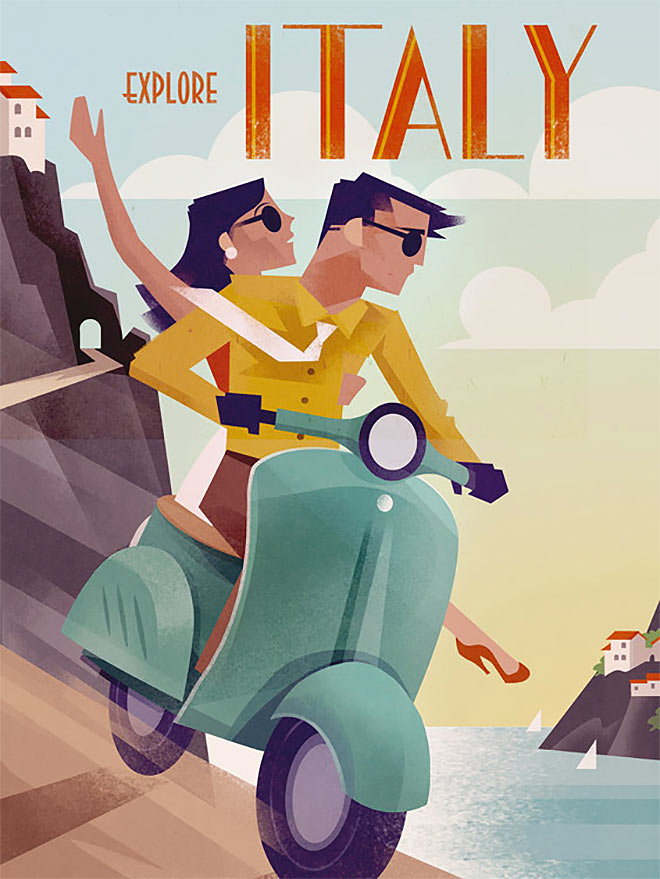 Explore Italy by Martin Wickstrom