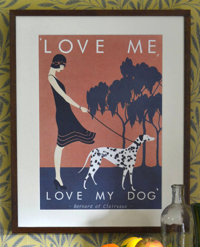 Love Me, Love My Dog by Red Gate Arts