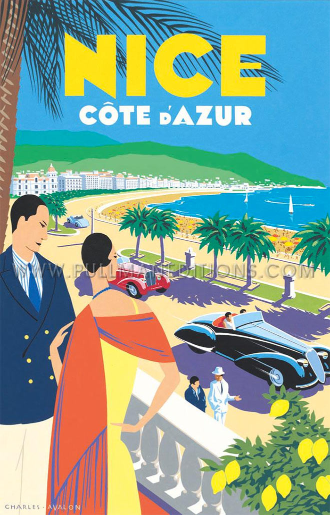 Nice Cote D'Azur by Charles Avalon