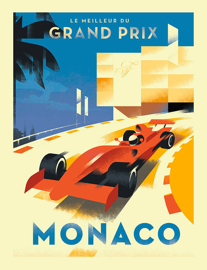 Grand Prix Monaco by Mads Berg