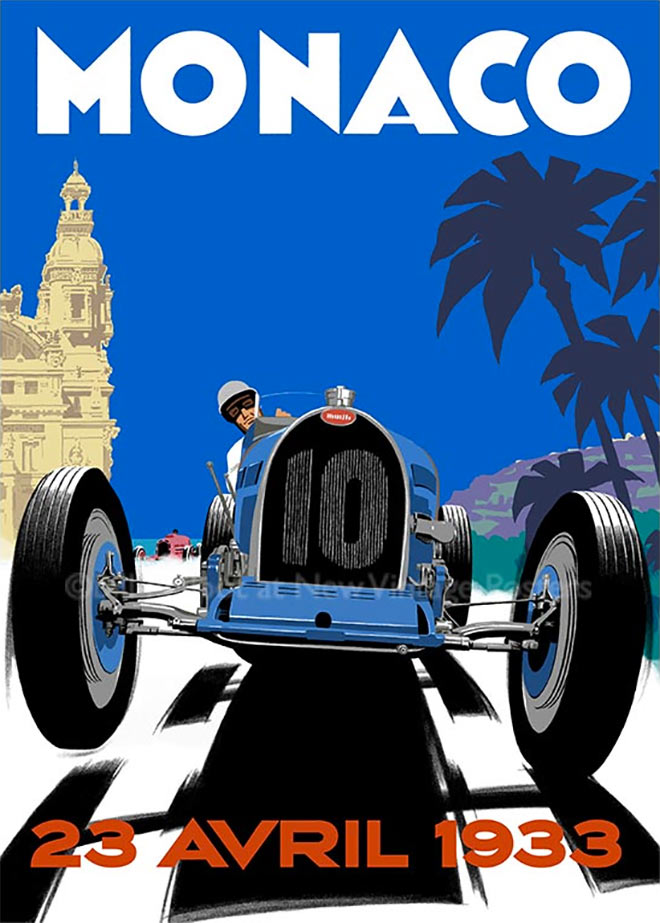 Bugatti Monaco by Bill Philpot