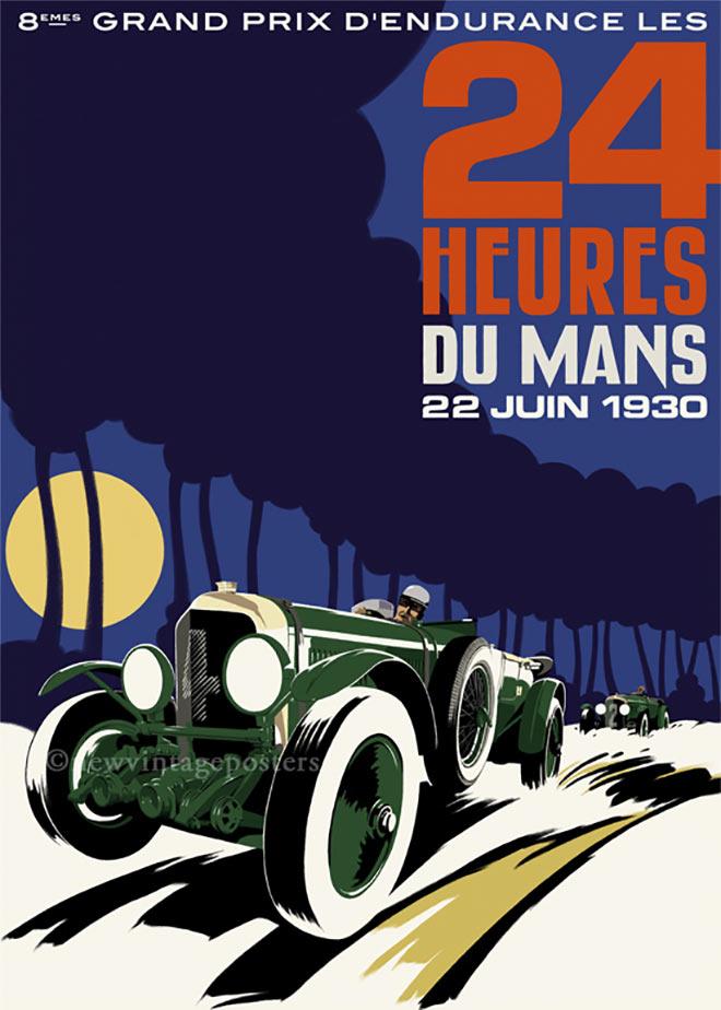 Bentley Le Mans by Bill Philpot