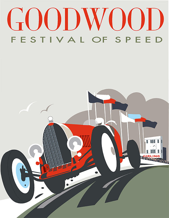 Goodwood Festival of Speed by Dave Thompson