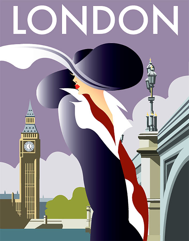 London by Dave Thompson