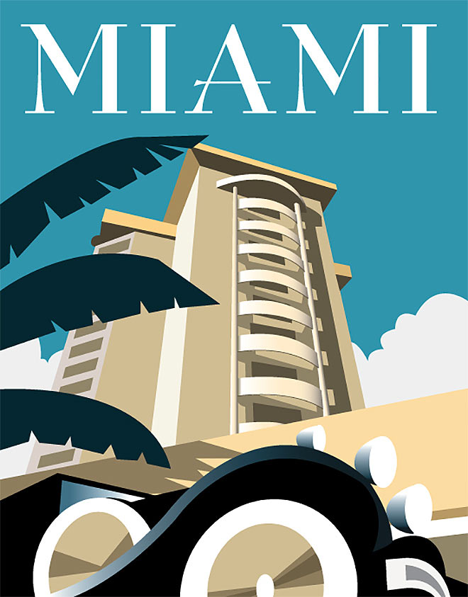 Miami by Dave Thompson