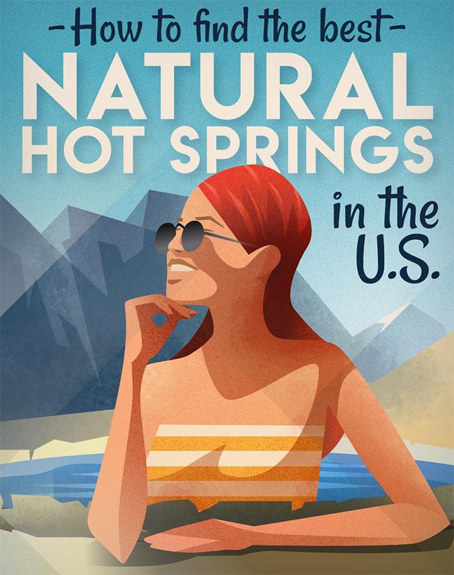 Natural Hot Springs by Csaba Gyulai