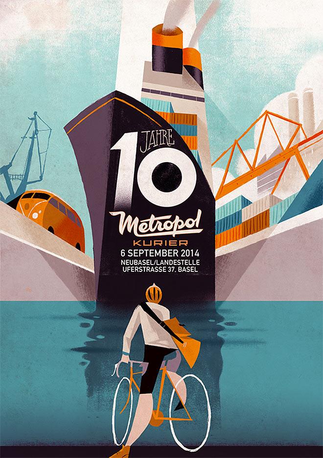 Metropol Kurier by Riccardo Guasco