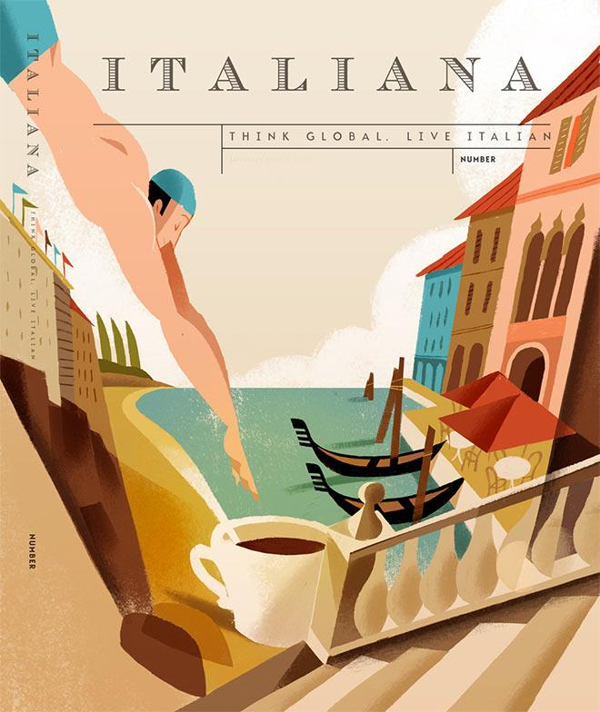 Magazine Italiana by Riccardo Guasco
