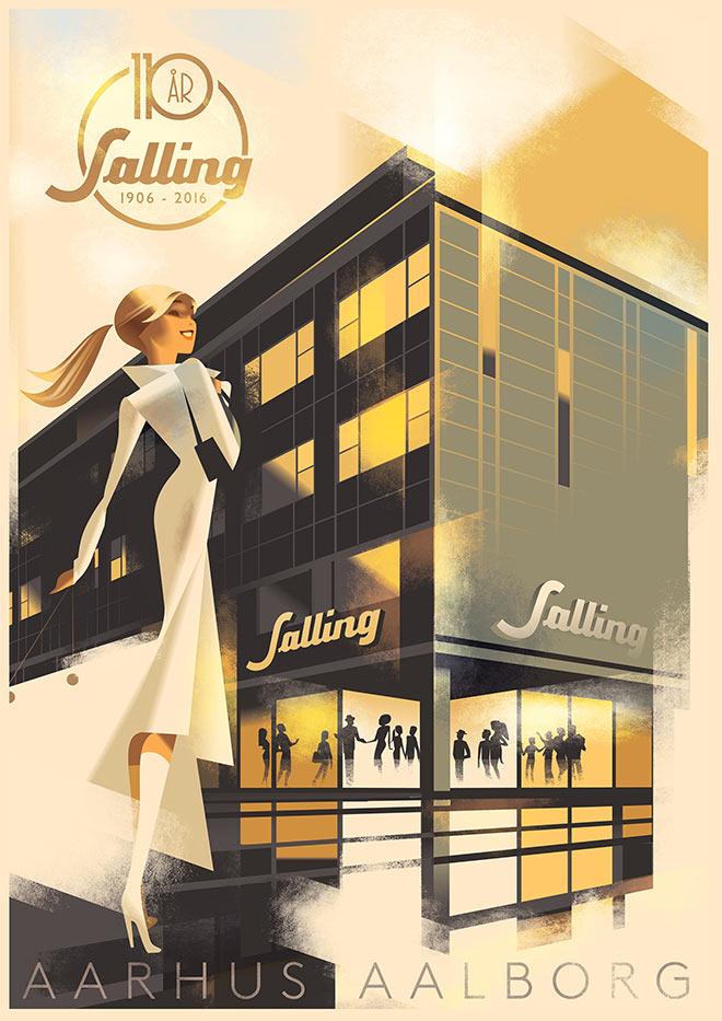 Sailing by Mads Berg