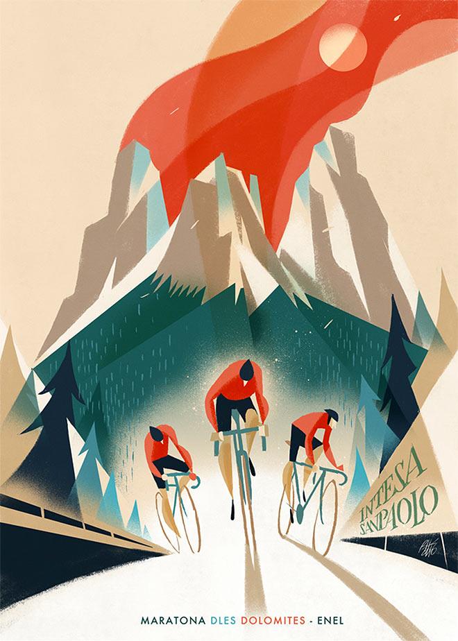Maratona dles Dolomites by Riccardo Guasco