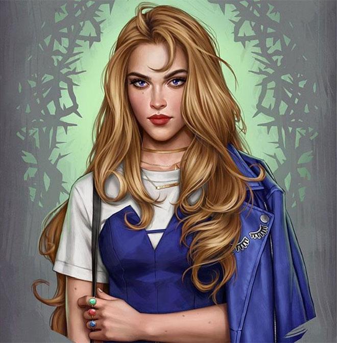 Modern Aurora by Fernanda Suarez