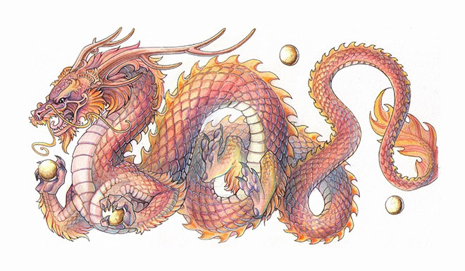 Chinese Dragon by Drachenmagier