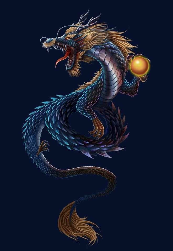 Chinese Dragon by Concept J