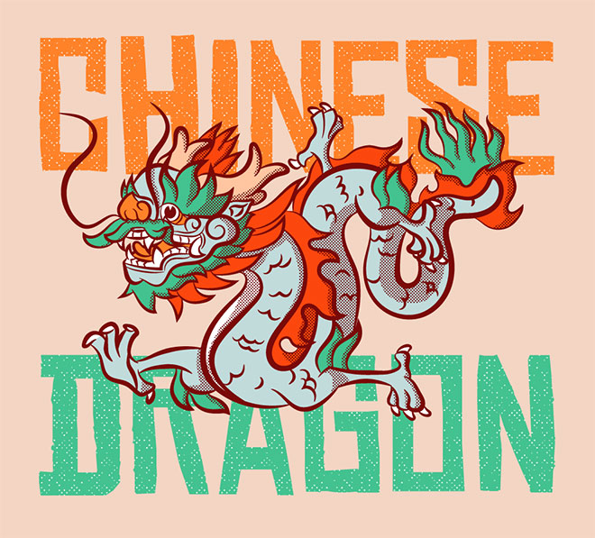 Chinese Dragon by Gregory Moreira