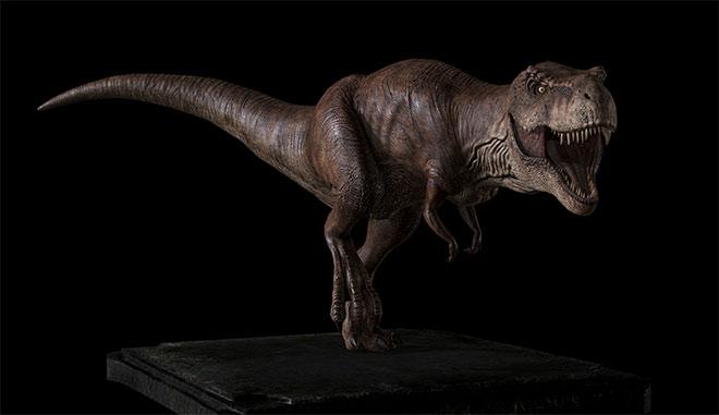 T-Rex (Jurassic Park) by Yosuke Ishikawa