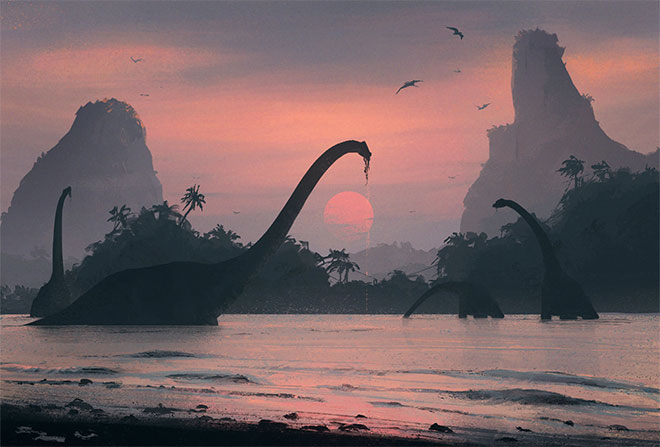 Nature of the Jurassic Period by Nikolay Razuev