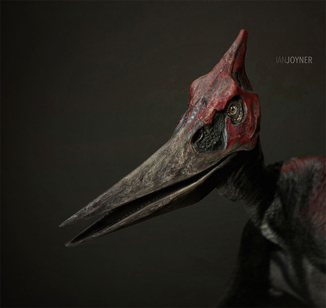 Jurassic World Pteranodon by Ian Joyner