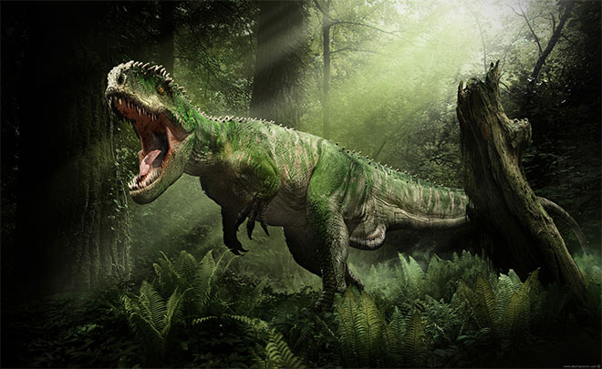 Giganotosaurus by Damir G. Martin