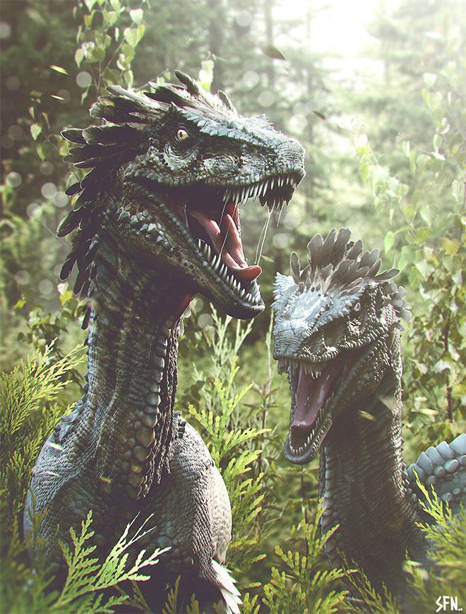 Velociraptors by Soufiane Idrassi
