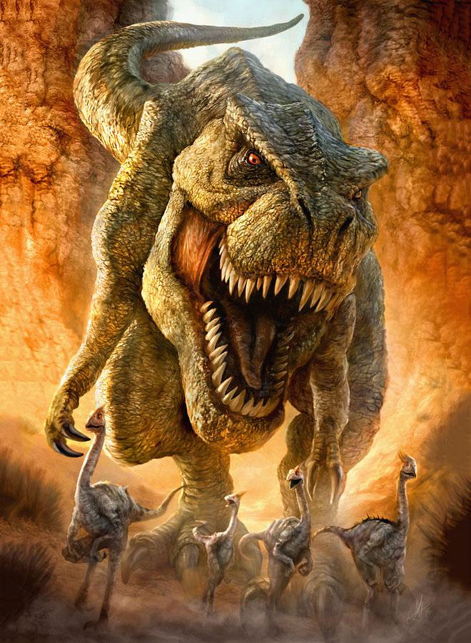 T Rex by Chrisscalf