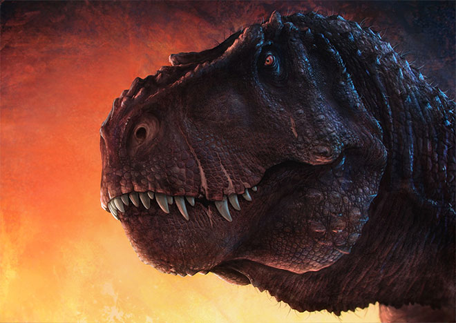 Tyrannosaurus Concept by Vlad Konstantinov
