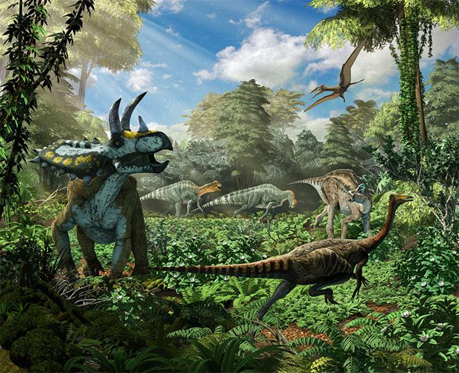 Coahuila Dinosaurs Diorama by Roman Garcia Mora