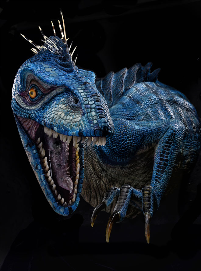 Blue Raptor by Trent Taft