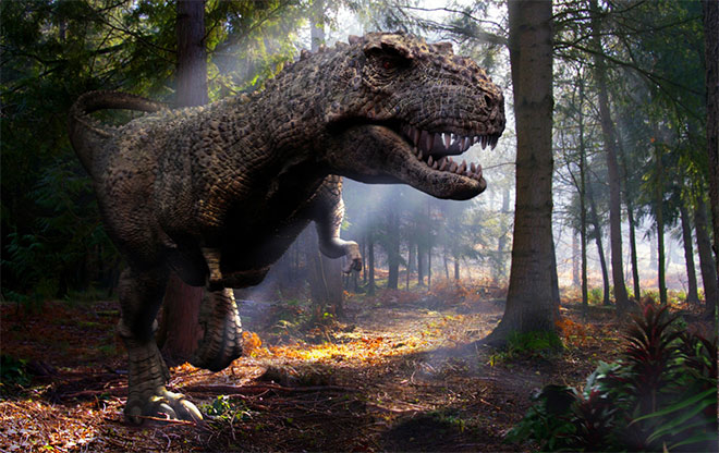 Tyrannosaurus by Sorin Bulucianu