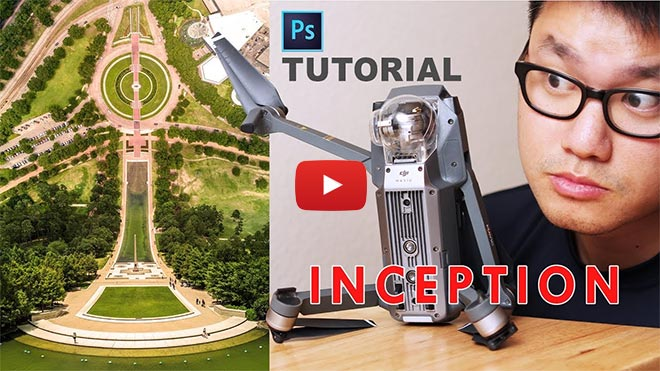 Drone Inception Flatland Photoshop Tutorial