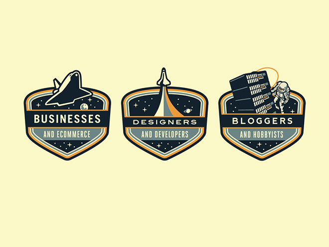 Rockettt Badges by Emir Ayouni