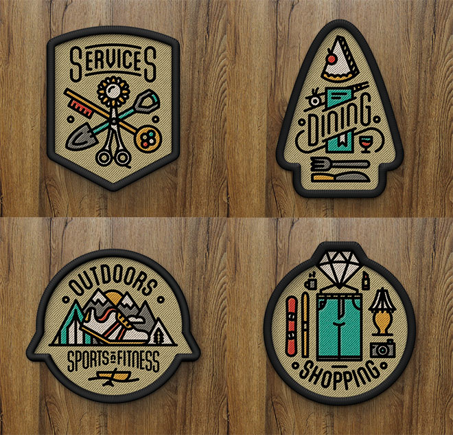 Denver's Best Stuff Patches by Tron Burgundy