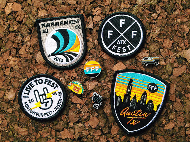 FFF9 Patches & Pins by Luigi Maldonado