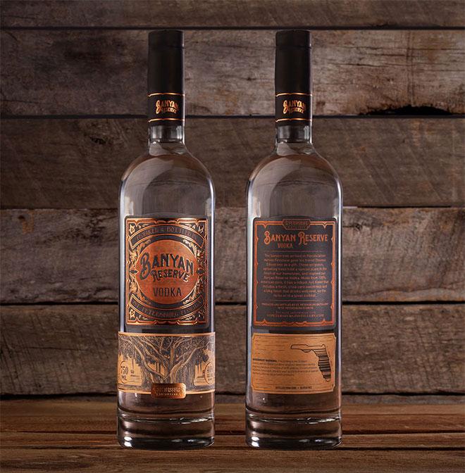 Banyan Reserve Vodka by Grant Gunderson