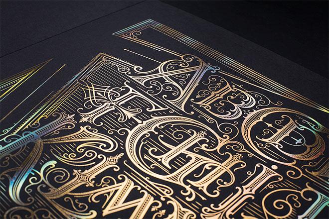 The Alphabet Poster by Mateusz Witczak