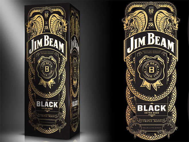 Jim Beam Artist Series by Joshua M. Smith