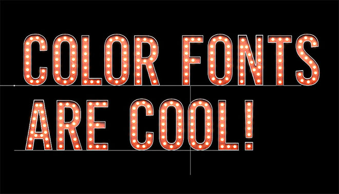 How To Create a Color Font in Photoshop Using Fontself