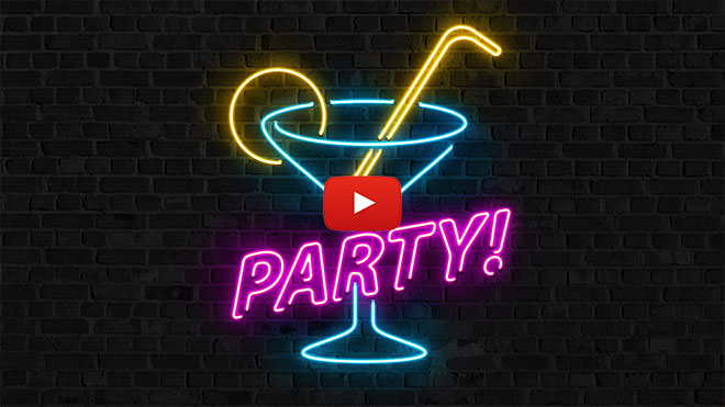 Neon Sign Effect Illustrator & Photoshop Tutorial