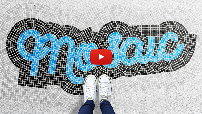 "How To Create a ""Fauxsaic"" Mosaic Text Effect"