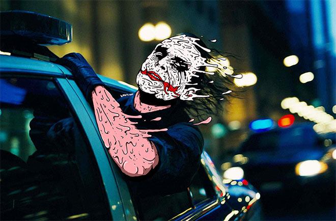 Joker by Babylon Artist