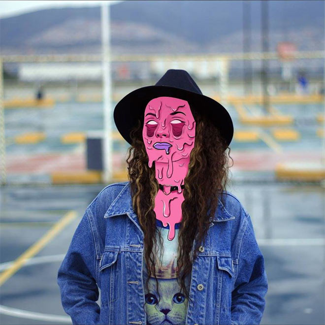Grime Art by Itzayana Nicte-ha Villegas Cruz