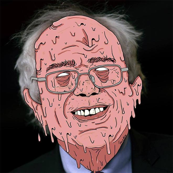 Bernie Sanders by DelaDeso
