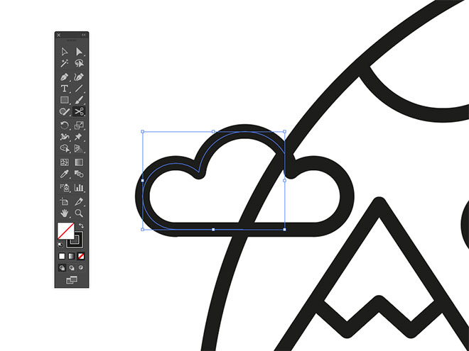 Line Art Logo Tutorial : How to create a line art badge logo in adobe illustrator