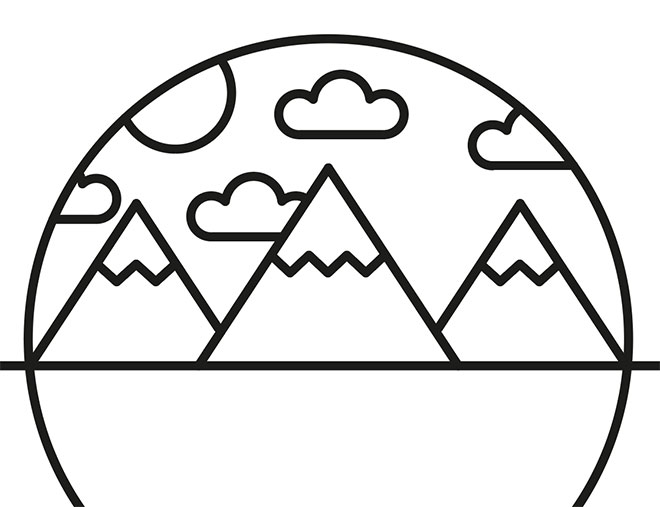 Line Art Logo Tutorial : How to create a line art badge logo in adobe illustrator