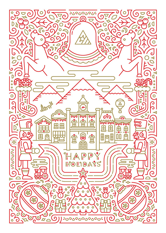 Holiday Card by Krista Hansen
