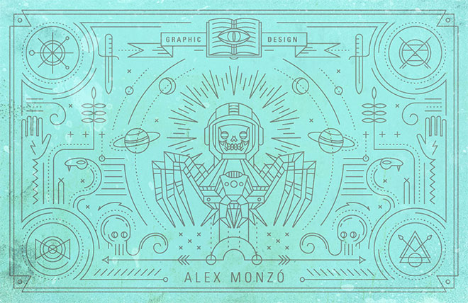 Personal Business Cards by Alex Monzo